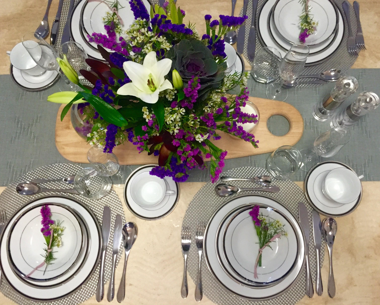 Simple dinner table setting - Fullsizerender 99